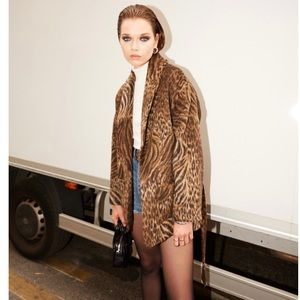 The Kooples Tiger Leo Wool Coat